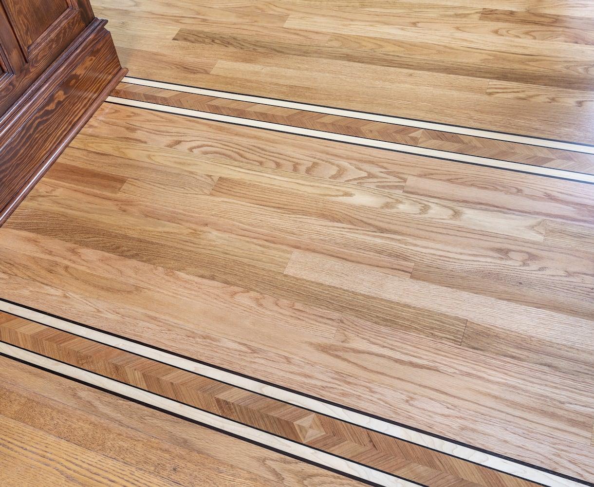 Willamette Heights - wood floor inlay, traditional home